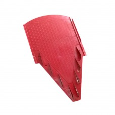 Placuta pentru razatoarea Borner V6 Inox de 10 mm Rosie